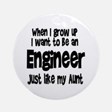 WIGU Engineer Aunt Ornament (Round)