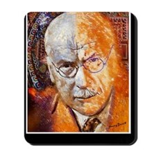 Carl Jung Poster Mousepad