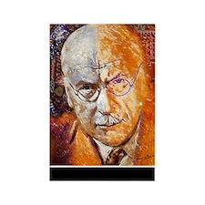 Carl Jung Poster Rectangle Magnet