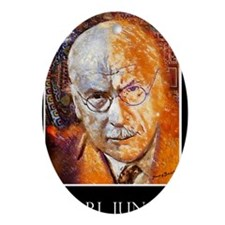 Carl Jung Poster Oval Ornament