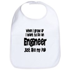 WIGU Engineer Dad Bib