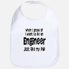 WIGU Engineer Dad Bib