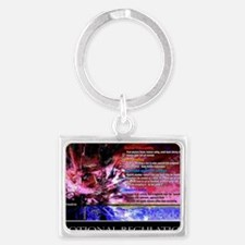 Emotional Regulation lg Poster Landscape Keychain