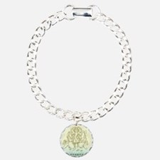 Ganesha Dip Dye Bracelet