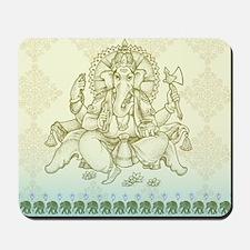 Ganesha Dip Dye Mousepad