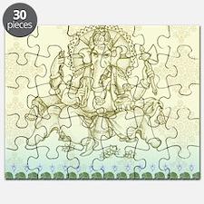 Ganesha Dip Dye Puzzle