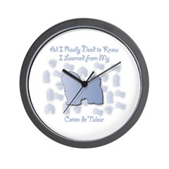 Learned Coton Wall Clock