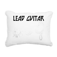 Lead Guitar Rectangular Canvas Pillow