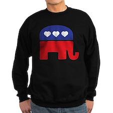 Republican Hearts Sweatshirt