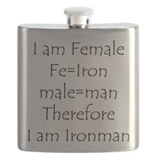 FemaIe Ironman Flask