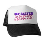 Best Sister in the World Trucker Hat