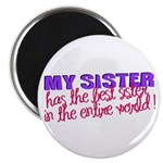 Best Sister in the World Magnet
