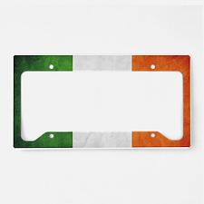 Irish Flag License Plate Holder