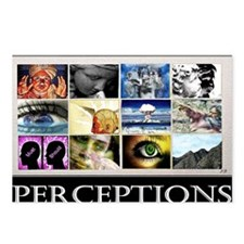 Perceptions lg Poster Postcards (Package of 8)
