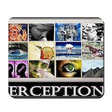 Perceptions lg Poster Mousepad