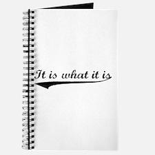 IT IS WHAT IT IS #2 Journal