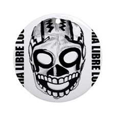 Mexican Wrestling Mask T-Shirt Round Ornament