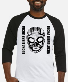 Mexican Wrestling Mask T-Shirt Baseball Jersey