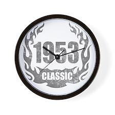 1953 Classic Grunge Wall Clock