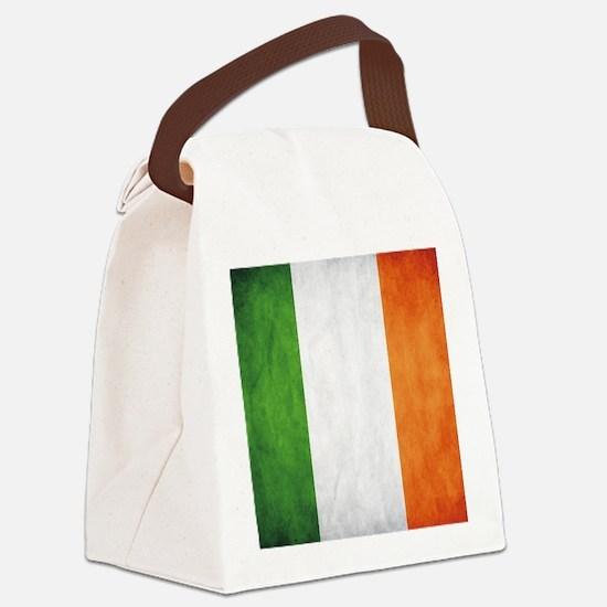 Irish Flag Canvas Lunch Bag