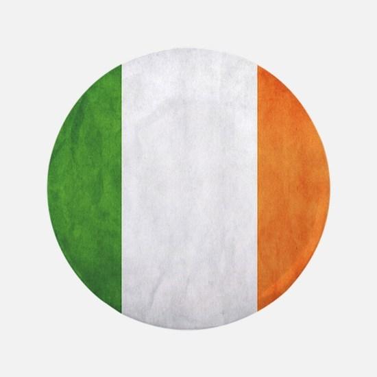 "Irish Flag 3.5"" Button"