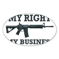 My Right, My Business Decal