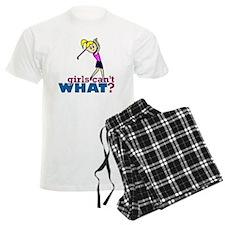 Girl Playing Golf Pajamas
