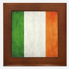 Irish Flag Framed Tile