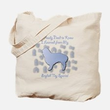 Learned Spaniel Tote Bag