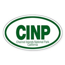 Channel Islands National Park Oval Decal