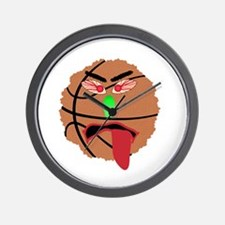 Funny March Madness Basketball Wall Clock
