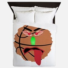 Funny March Madness Basketball Queen Duvet