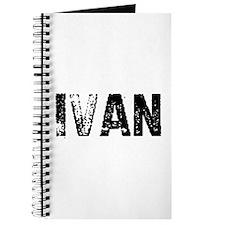Ivan Journal