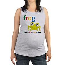 F.R.O.G. Maternity Tank Top