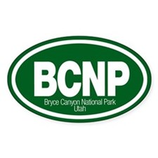 Bryce Canyon National Park Oval Decal