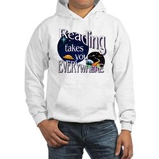 Reading Takes You Everywhere BL Hoodie