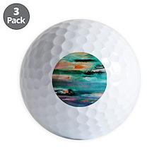 Returning To Land Golf Ball