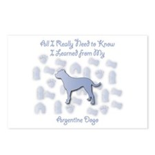 Learned Dogo Postcards (Package of 8)