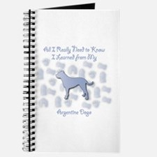 Learned Dogo Journal