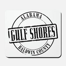 Gulf Shores Title W Mousepad