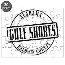 Gulf Shores Title W Puzzle
