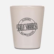Gulf Shores Title W Shot Glass
