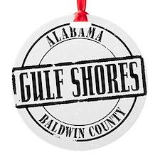 Gulf Shores Title W Ornament