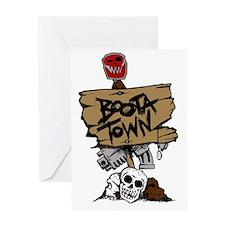Boota Town Greeting Card