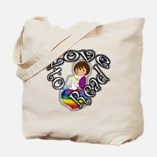 Rainbow girl BL Tote Bag