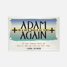 Adam Again New World of Time Rectangle Magnet