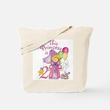 Princess 2nd Birthday Tote Bag