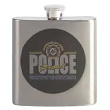 Police Supporter Flask