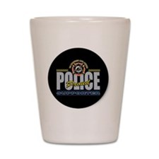 Police Supporter Shot Glass
