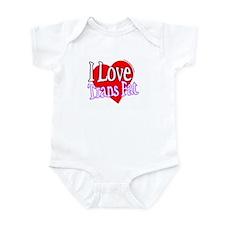 I Love Trans Fat Infant Bodysuit